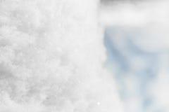 La textura de la nieve Fotografía de archivo