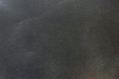 La textura de la oscuridad cepilló el metal rasguñado Fotografía de archivo libre de regalías