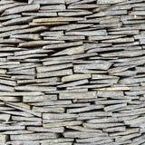 La textura de la pared de piedra de la pizarra Foto de archivo libre de regalías