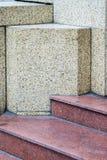 La textura de la piedra del granito en fondo de la calle Fotos de archivo