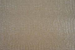 La textura de la piel ligera del cocodrilo Fotos de archivo libres de regalías
