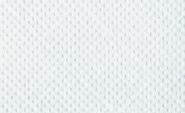 La textura de la servilleta del Libro Blanco Fotos de archivo