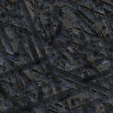 La textura de la superficie de metal del meteorito. stock de ilustración