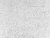 La textura de la tela blanca Imágenes de archivo libres de regalías