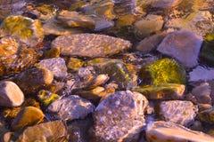 La textura de las piedras Imagen de archivo