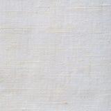 La textura de lino de la fibra blanca brillante natural del lino detalló el modelo texturizado vintage arrugado rústico de la lon Foto de archivo libre de regalías
