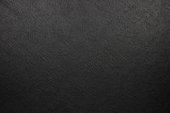 La textura de lino de la fibra negra brillante natural, primer macro detallado grande, vintage rústico texturizó el fondo de la l Foto de archivo