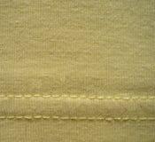 La textura de los géneros de punto del algodón Fotos de archivo