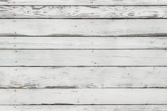 La textura de madera blanca Imagen de archivo