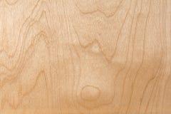 La textura de la madera contrachapada natural del abedul, la superficie de la madera de construcción es no tratada, mucha fibra y Fotografía de archivo libre de regalías