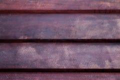 La textura de madera marrón con los modelos naturales Fotografía de archivo libre de regalías