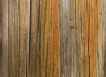 La textura de madera oxidada Foto de archivo libre de regalías