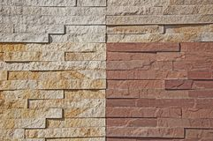 La textura de la piedra natural Pared y fondo de piedra Fondo interior de una piedra foto de archivo libre de regalías