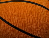 La textura de un baloncesto Foto de archivo
