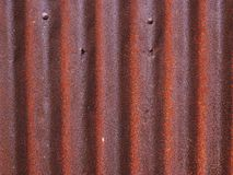 La textura de la vieja superficie del cinc galvanizó el moho, fondo oxidado del cinc fotos de archivo libres de regalías