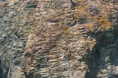 La textura del acantilado Imagen de archivo