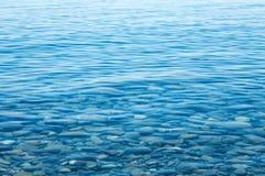 La textura del agua Fotografía de archivo