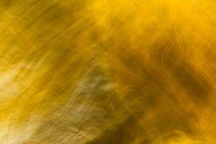 La textura del color oro para el fondo Fotografía de archivo libre de regalías