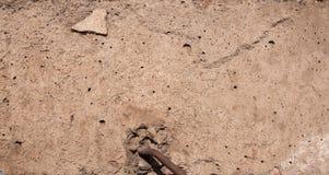 La textura del concreto fotografía de archivo