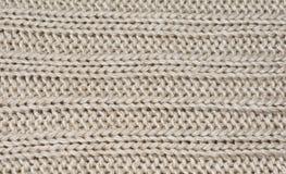 La textura del material de las lanas con un modelo longitudinal Fotografía de archivo libre de regalías