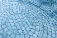 La textura del pavimento de piedra Guijarro del granito Extracto Imágenes de archivo libres de regalías
