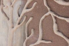 La textura en la pared Fotos de archivo