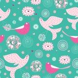 La textura es pájaros hermosos Fotos de archivo libres de regalías