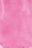 La textura hecha a mano natural rosada de la pintura de la acuarela, vertical texturizó la pintura macra de papel del fondo del e Imagen de archivo libre de regalías
