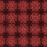 La textura hecha punto checky del marsala abstracto hizo inconsútil stock de ilustración