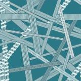 La textura inconsútil del vector abstracto con diversos tipos de vaping arrolla Foto de archivo