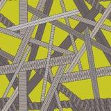 La textura inconsútil del vector abstracto con diversos tipos de vaping arrolla Imagenes de archivo