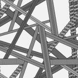 La textura inconsútil del vector abstracto con diversos tipos de vaping arrolla Fotos de archivo