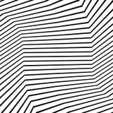 La textura monocromática, modelo monocromático con formas al azar alinea stock de ilustración