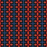 La textura o el fondo anaranjada abstracta con el modelo detallado hizo inconsútil Imagen de archivo