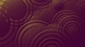 La textura púrpura abstracta, fondo de burbujas multicoloras brillantes hermosas mágicas enérgicas cósmicas burbujea las líneas d libre illustration