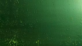 La textura verde del metal almacen de video