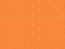 La texture abstraite a souillé le fond rouge-clair de mur de briques de peinture de stuc dans la chambre rurale, blocs de maçonne Photographie stock libre de droits