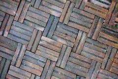 La texture au sol de brique, vieille brique Photographie stock libre de droits