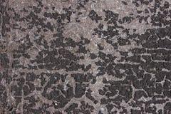 La texture avec la vieille surface a couvert les taches inégales photo stock