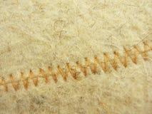 La texture beige de laines de tapis Photo libre de droits
