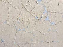 La texture crème légère de fond de couleur a peint le mur avec photo libre de droits