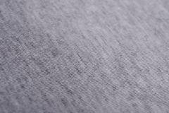 La texture d'un tissu de coton gris Image libre de droits