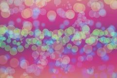 La texture de bokeh de Blure wallpapers l'arc-en-ciel et le fond Photos libres de droits