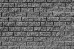La texture de brique Mur gris Image stock