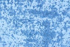 la texture de fond a peint le bleu de mur de plâtre modifié la tonalité photos libres de droits