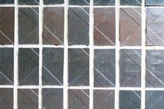 La texture de l'ornement décoratif de mur de mosaïque du carreau de céramique Photos libres de droits
