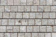 La texture de la maçonnerie de pavé Photo libre de droits