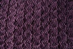La texture de la laine tricotée Photographie stock libre de droits