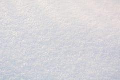 La texture de la neige Neige de fond Pur blanc Images stock