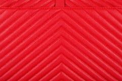 La texture de la peau est rouge avec un modèle diagonal photographie stock libre de droits